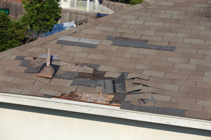 Roof Shingle Blow-off Repair in Greenwich, New Canaan